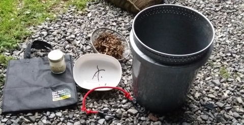 Two Worm Bucket – How long will it take?